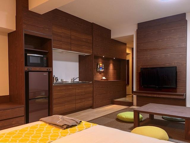 ホテルサンセットヒル お部屋にキッチンあり