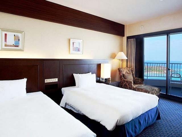 沖縄かりゆしビーチリゾート・オーシャンスパ オーシャンタワー 客室一例