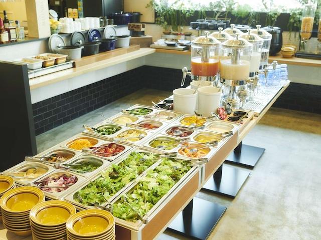 東急ステイ札幌 彩り豊かな新鮮野菜と果物が楽しめるサラダビュッフェと北海道を感じる豊富な洋食メニュー