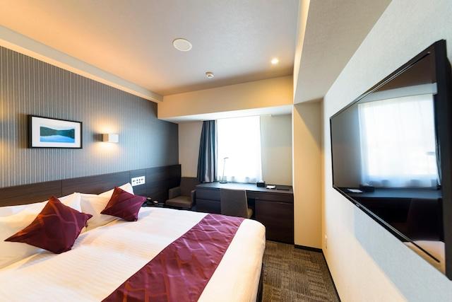 ベストウェスタンプラスホテルフィーノ千歳 スーペリアダブル 16.8㎡ ベッド幅160㎝