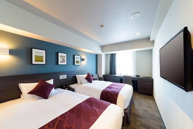 ベストウェスタンプラスホテルフィーノ千歳 スーペリアツイン 21㎡ ベッド幅120㎝