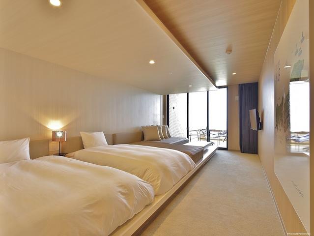 i+Land nagasaki(旧:やすらぎ伊王島) TERRACE LODE(テラスロッジ)ファミリールーム 38㎡