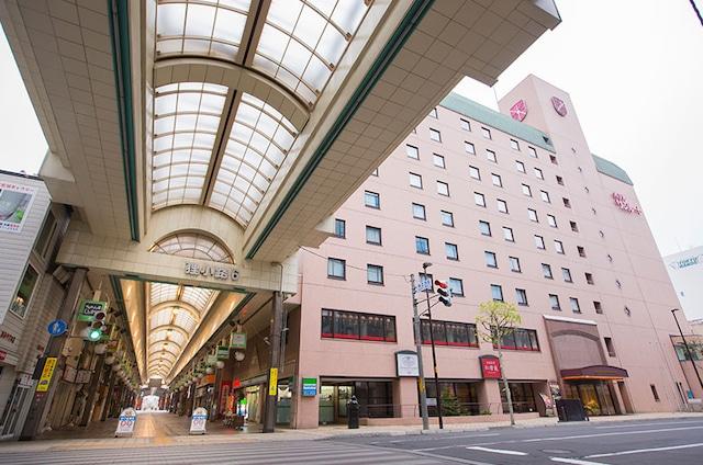 ホテルサンルートニュー札幌 狸小路商店街すぐ近くで観光に便利