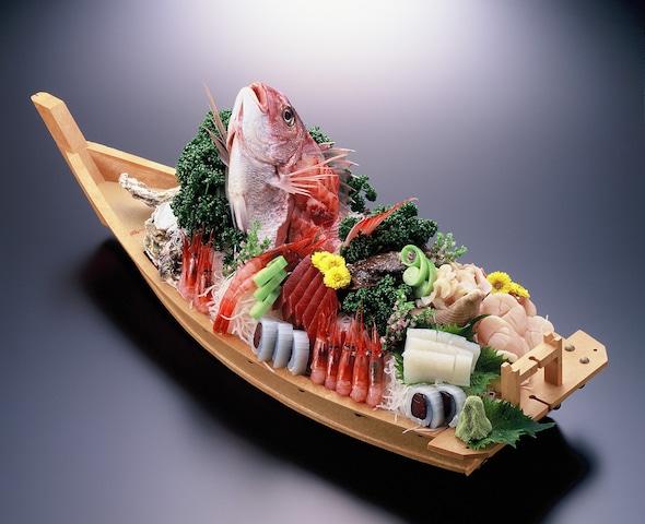 弥彦温泉 お宿 だいろく 夕食一例