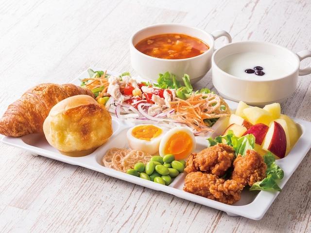 コンフォートホテル天童 朝食一例