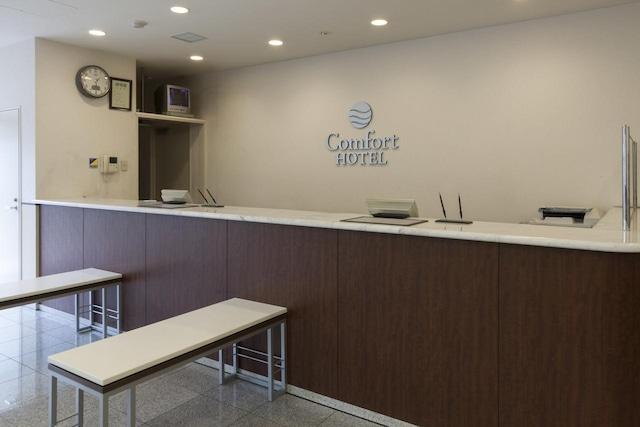 コンフォートホテル天童 フロント