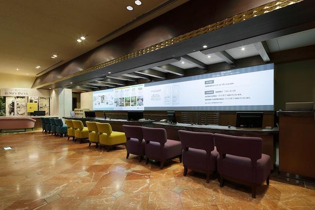 【新浦安】オリエンタルホテル東京ベイ ホテルフロント