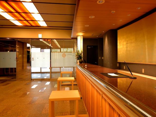 月岡温泉 ホテル清風苑 フロント