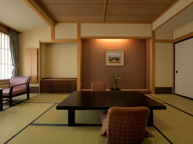 月岡温泉 ホテル清風苑 平安亭和室スタンダード 36㎡