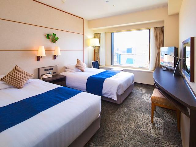 プレミアホテル中島公園札幌 スタンダードツインルーム