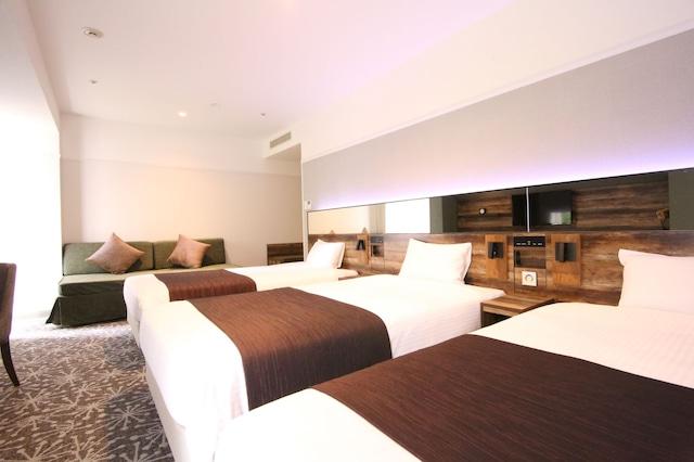 クインテッサホテル札幌 4名1室(一例)