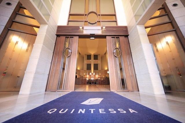 クインテッサホテル札幌 エントランス