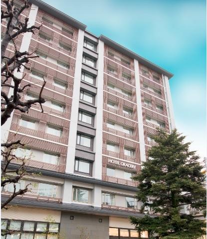 ホテルグレイスリー京都三条 外観(南館)