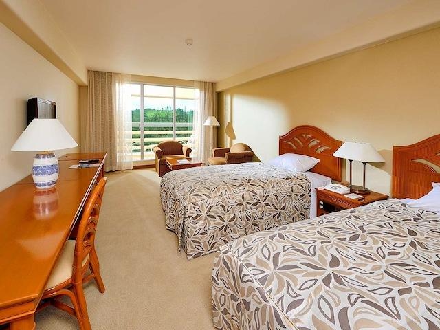 リザンシーパークホテル谷茶ベイ スタンダードルーム / グリーンビュー(30㎡)