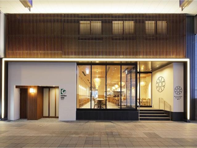 からくさホテル札幌 狸小路商店街側 エントランス