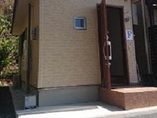 奄美ラッキーハウス ミニコテージ外観