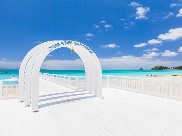 オクマ プライベートビーチ & リゾート ビーチ