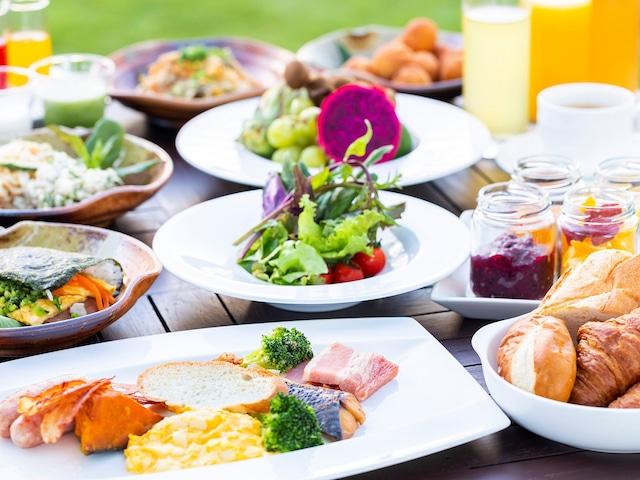 オクマ プライベートビーチ & リゾート 朝食一例