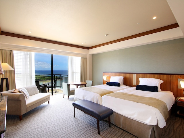 ホテル日航アリビラ トップフロアオーシャンパティオ一例