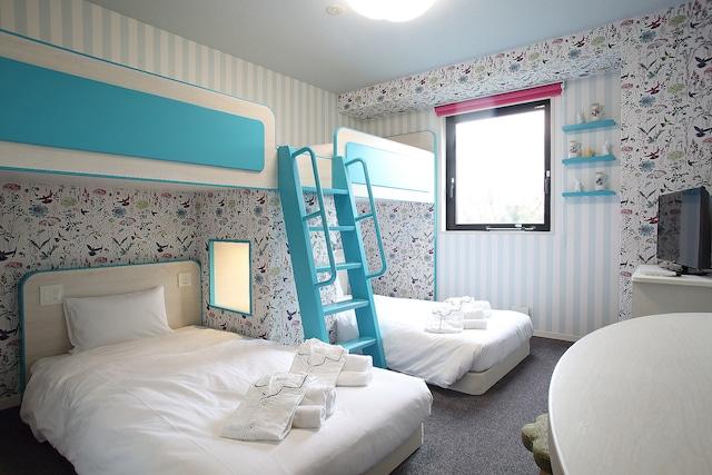 【舞浜】HOTELユーラシア舞浜ANNEX 2段ベッドルーム(2-4名)
