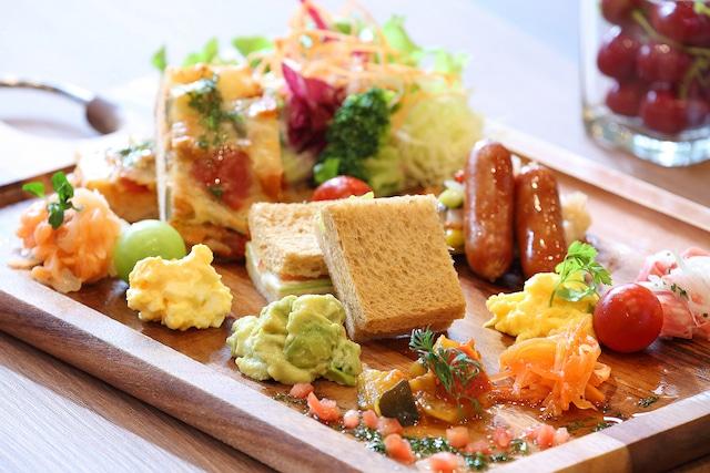 【舞浜】HOTELユーラシア舞浜ANNEX 朝食盛り付けイメージ(洋食)