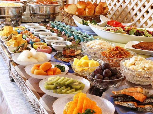 ネストホテル松山 朝食一例