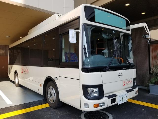 【舞浜】HOTELユーラシア舞浜ANNEX 無料送迎バス