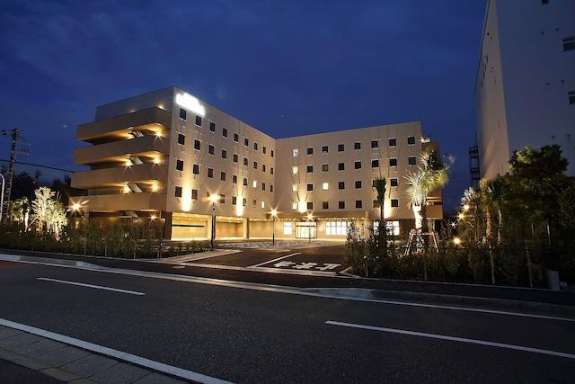 【舞浜】HOTELユーラシア舞浜ANNEX 外観(夜)