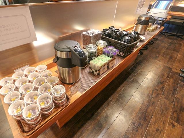 ホテルリブマックス札幌すすきの 軽朝食一例