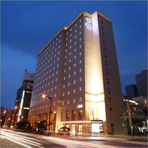 ダイワロイネットホテル札幌すすきの 外観(夜)