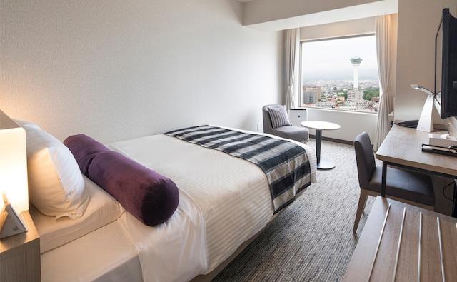 ホテルマイステイズ函館五稜郭 スタンダードダブル 16㎡ ベッド幅140㎝