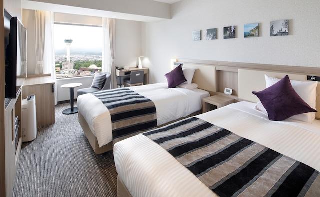 ホテルマイステイズ函館五稜郭 スタンダードツイン 23㎡ ベッド幅110㎝