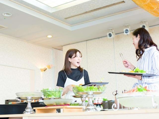 ホテルエリアワン番神岬 朝食