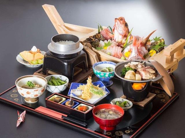 ホテルエリアワン番神岬 夕食