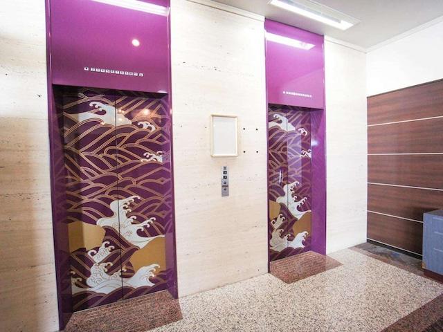 ホテルエリアワン番神岬 エレベーター