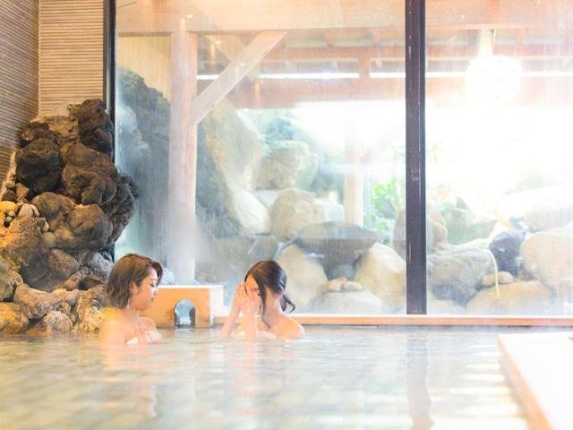 月岡温泉 美の湯 風鈴屋 大浴場