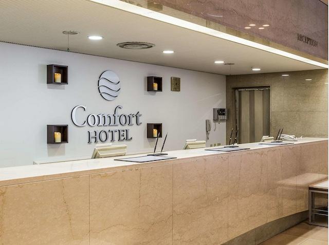 コンフォートホテル博多 フロント