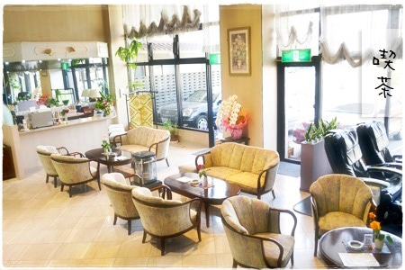 雲仙スカイホテル 喫茶コーナー
