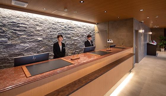 セントラルホテル武雄温泉駅前 フロント