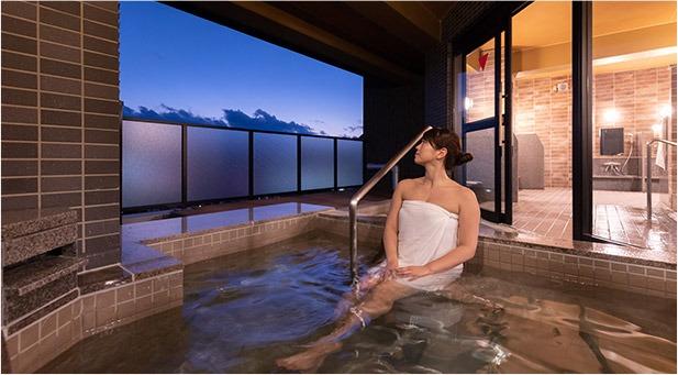 セントラルホテル武雄温泉駅前 「泉都の湯」