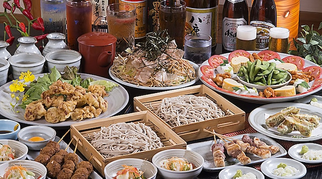 ホテルサンバリー 【本館】蕎麦 居酒屋 まるや 別府店