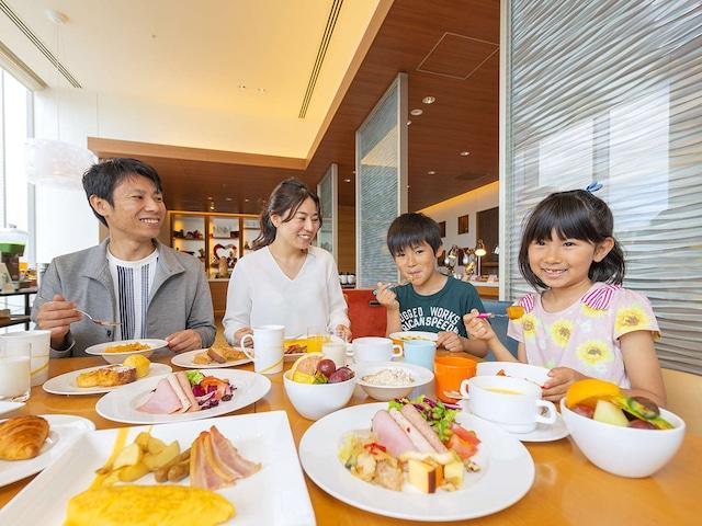 シェラトングランドホテル広島 朝食風景