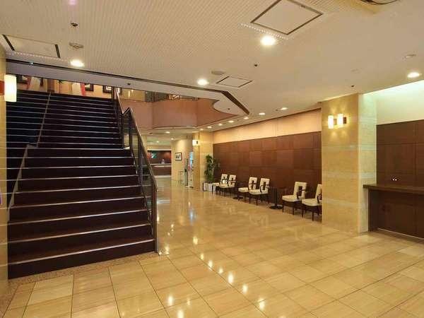 チサンホテル広島 ロビー