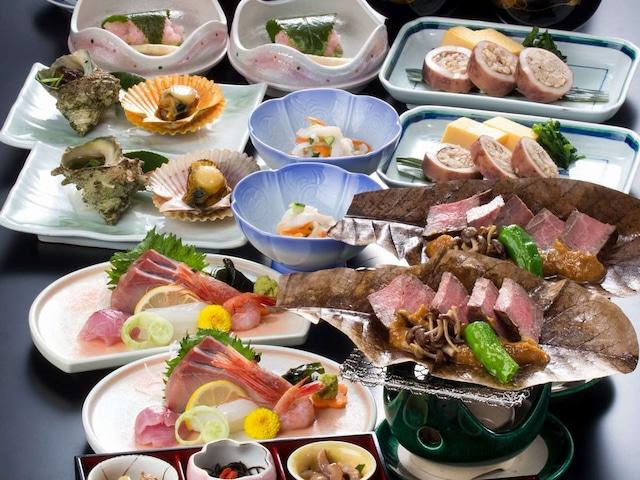 ホテルMIYABI 夕食一例