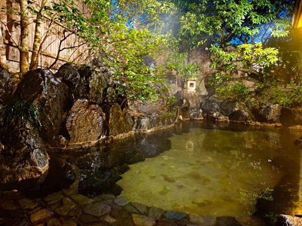 玉造温泉 保性館 露天風呂