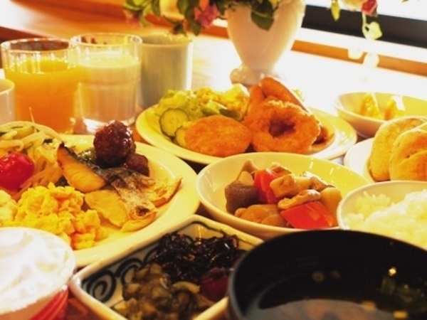 ホテルルートイン松江 朝食