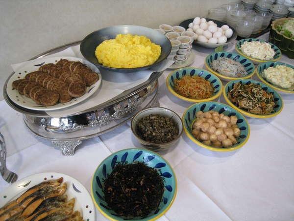 ホテルサンヌーベ 朝食