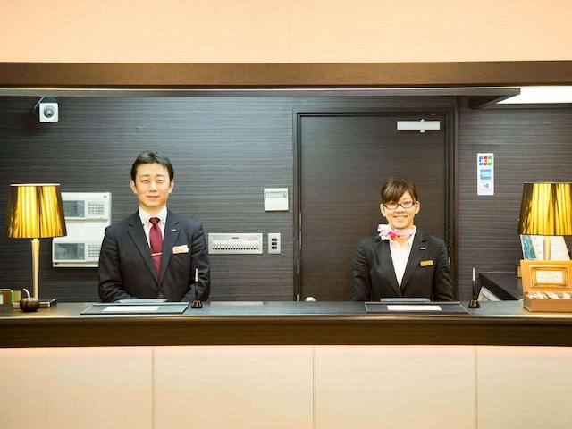 ホテルエリアワン岡山 フロント