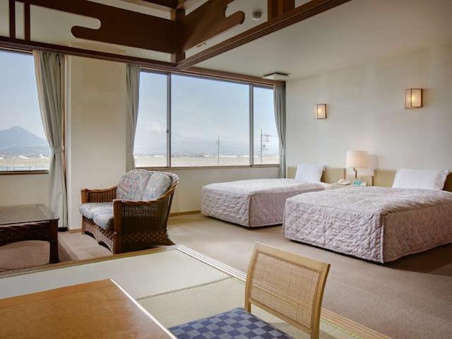 皆生温泉 ホテルウェルネスほうき路 特別和洋室ツイン 44㎡