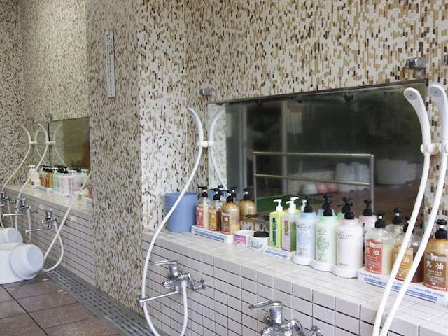 三朝温泉 三朝ロイヤルホテル 洗い場